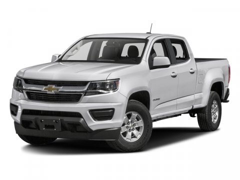 2016 Chevrolet Colorado 2WD WT Summit WhiteJet BlackDark Ash V4 25L Automatic 0 miles  Rear