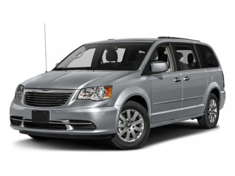 2016 Chrysler Town  Country Touring Crystal Blue PearlcoatBlackLight Graystone V6 36 L Automat