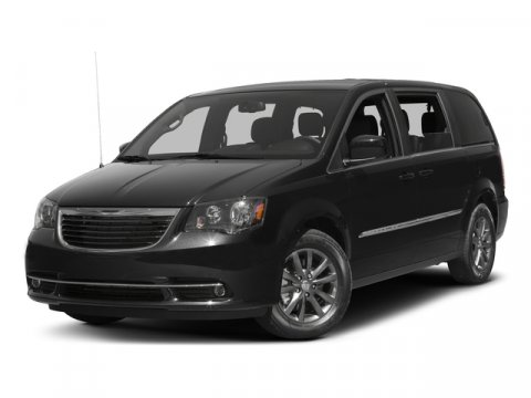 2016 Chrysler Town  Country S Brilliant Black Crystal Pearlcoat V6 36 L Automatic 3188 miles