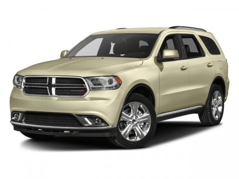 2016 Dodge Durango Limited Bright White ClearcoatLEATHER V6 36 L Automatic 1 miles  Rear Whee