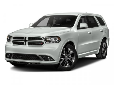 2016 Dodge Durango RT Bright White ClearcoatBlack V8 57 L Automatic 5 miles  2ND ROW FOLDTU