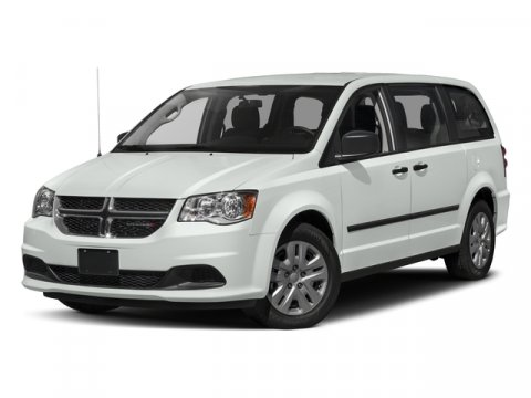 2016 Dodge Grand Caravan American Value Pkg Brilliant Black Crystal PearlcoatBlackLight Grayston