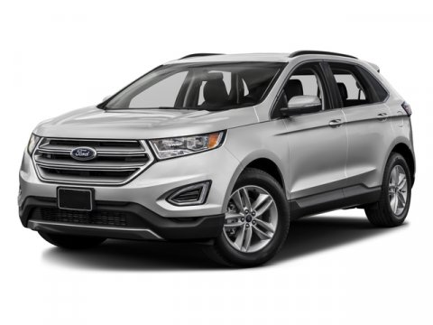 2016 Ford Edge Titanium White Platinum Metallic Tri-CoatEbony V6 35 L Automatic 1 miles Welco