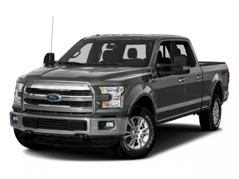 2016 Ford F-150 Ingot Silver MetallicBlack Int WBlack Leather V6 35 L Automatic 0 miles Ford