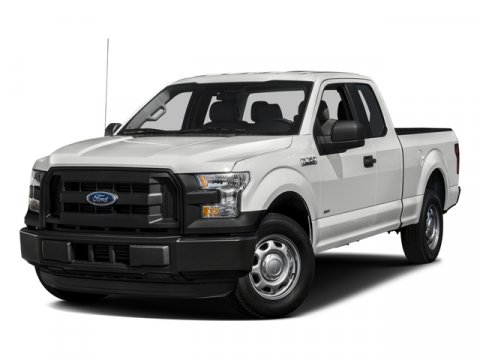 2016 Ford F-150 XL Oxford WhiteMedium Earth Gray V8 50  L Automatic 0 miles Ford F-150 capabi
