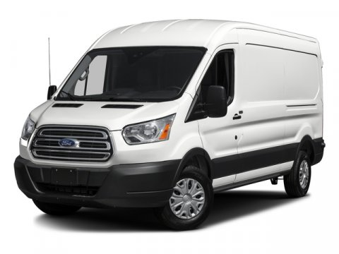 2016 Ford Transit Cargo Van T-350 Oxford WhitePewter V6 37 L Automatic 12 miles We know it wi