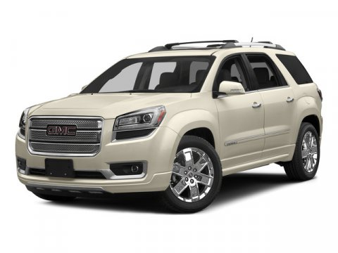 2016 GMC Acadia Denali White Frost TricoatEbony V6 36L Automatic 8 miles  AUDIO SYSTEM COLOR
