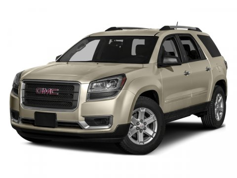 2016 GMC Acadia SLT Summit WhiteDARK CASHMERE V6 36L Automatic 8 miles  AUDIO SYSTEM COLOR TO