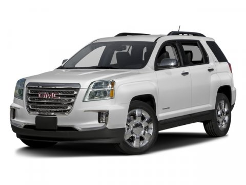 2016 GMC Terrain SLT Summit White V6 36L Automatic 18777 miles Scores 24 Highway MPG and 17 C