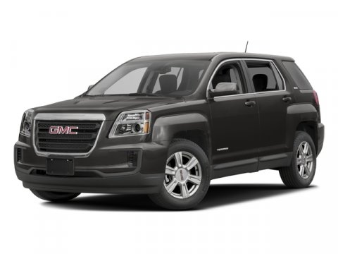 2016 GMC Terrain SLE Quicksilver MetallicJet Black V4 24L Automatic 7 miles  ENGINE 24L DOHC