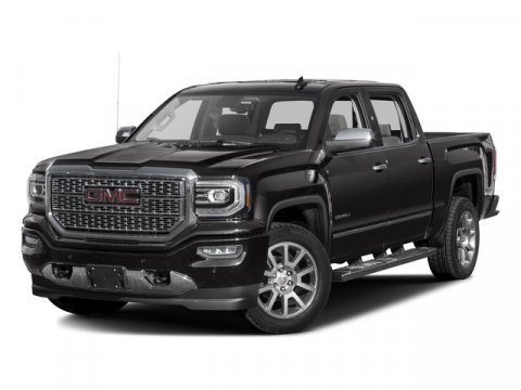 2016 GMC Sierra 1500 Denali Onyx Black V8 53L Automatic 6 miles  TRI-MODE POWER STEPS GVW RAT