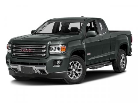 2016 GMC Canyon 2WD SLE Cyber Gray MetallicH0UJet Black V6 36L Automatic 16 miles To check a