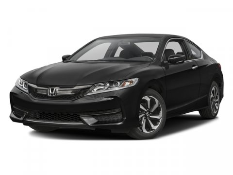 2016 Honda Accord Coupe LX-S Crystal Black PearlBLK CLOTH V4 24 L Variable 2 miles   Stock