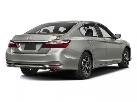 2016 Honda Accord Sedan LX BLACK V4 24 L Variable 18183 miles  Front Wheel Drive  Power Stee