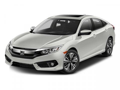 2016 Honda Civic Sedan EX-L BlueBlack V4 15 L Variable 0 miles  Turbocharged  Front Wheel Dr