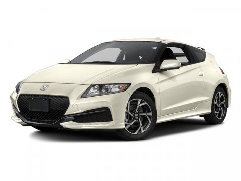 2016 Honda CR-Z LX Ivory Pearl V4 15 L Variable 7 miles  IVORY PEARL BLACK ADVERTISING THEFT