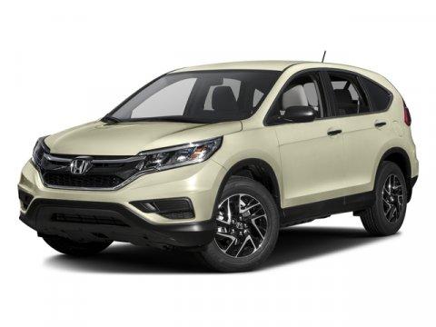 2016 Honda CR-V SE Crystal Black Pearl V4 24 L Variable 7 miles  CRYSTAL BLACK PEARL BLACK AD