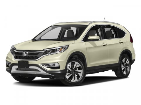 2016 Honda CR-V Touring Alabaster Silver Metallic V4 24 L Variable 7 miles  ALABASTER SILVER