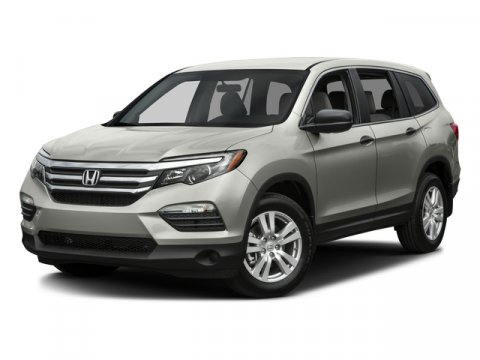 2016 Honda Pilot LX Steel Sapphire MetallicGray Cloth V6 35 L Automatic 3 miles   Stock 00