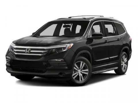 2016 Honda Pilot EX-L Crystal Black PearlGRY LEATHER V6 35 L Automatic 5 miles   Stock 008