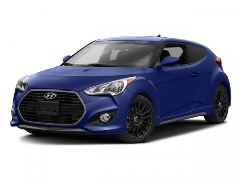 2016 Hyundai Veloster Turbo Rally Edition Matte BlueBlack V4 16 L Manual 9 miles  Turbocharge