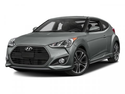 2016 Hyundai Veloster Turbo Pacific BlueBlack V4 16 L Automatic 0 miles  BLACK LEATHER SEATIN