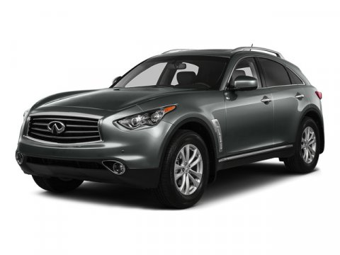 2016 Infiniti QX70 RWD BlackGraphite V6 37 L Automatic 12922 miles One Owner Black with Blac