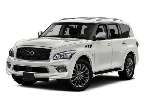 2016 INFINITI QX80 4DR 2WD Silver V8 56 L Automatic 28024 miles Dont let the miles fool you