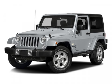 2016 Jeep Wrangler SAHA Bright White ClearcoatLEATHER V6 36 L Automatic 1 miles  Four Wheel D