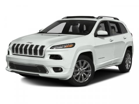 2016 Jeep Cherokee LATI Bright White ClearcoatCLOTH V6 32 L Automatic 1 miles  Front Wheel Dr