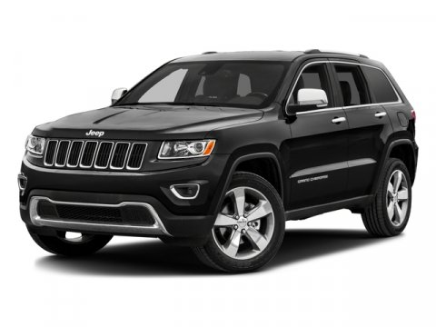 2016 Jeep Grand Cherokee LARE Brilliant Black Crystal PearlcoatCLOTH V6 36 L Automatic 15 mile