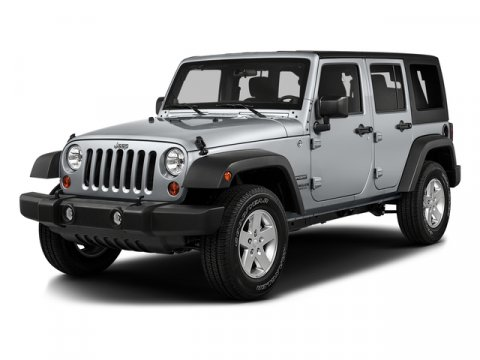 2016 Jeep Wrangler Unlimited Sport Bright White ClearcoatBlack V6 36 L Manual 0 miles  373 R