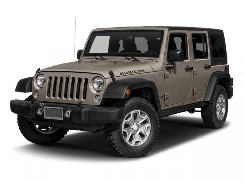 2016 Jeep Wrangler Unlimited Rubicon Hard Rock Bright White ClearcoatBlack V6 36 L Manual 7 mi