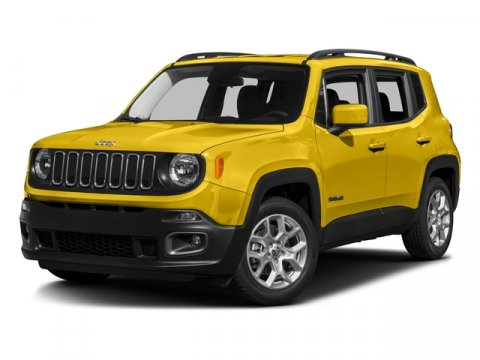 2016 Jeep Renegade Sport Solar YellowCLOTH V4 24 L Automatic 1 miles  Turbocharged  Front Wh