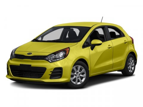 2016 Kia Rio Yellow V4 16 L Automatic 5 miles MP3 Player 37 MPG Highway SAT RADIO The 2016