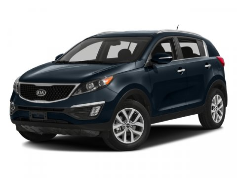 2016 Kia Sportage LX FWD Bright SilverBlack V4 24 L Automatic 5277 miles No Dealer Fees Need