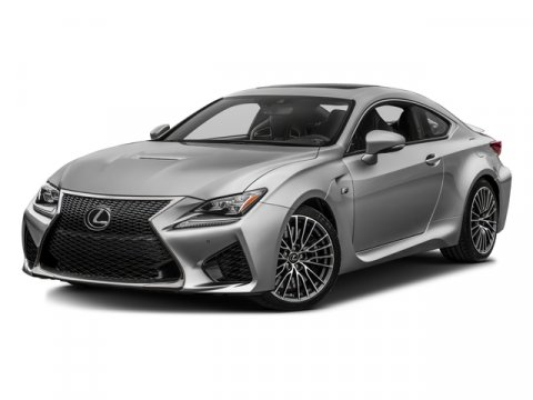 2016 Lexus RC F wNavigation Obsidian V8 50 L Automatic 1 miles  ALL WEATHER PACKAGE -inc He