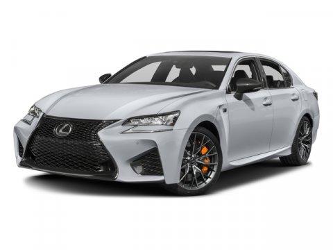 2016 Lexus GS F Ultra White V8 50 L Automatic 6812 miles  Rear Wheel Drive  Power Steering