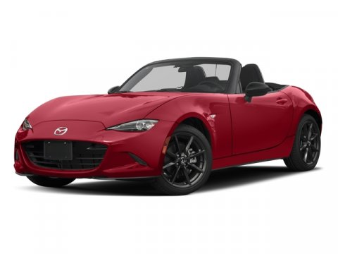 2016 Mazda MX-5 Miata Club Soul Red MetallicBlack wred stitching V4 20 L  1 miles  Rear Whee