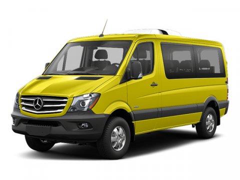 2016 Mercedes Sprinter Passenger Van RWD 2500 144 Jet BlackLeatherette Bla V6 30 L Automatic 9