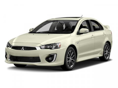 2016 Mitsubishi Lancer ES Diamond White PearlBlack V4 24 L Variable 5 miles  ALL WEATHER PACK