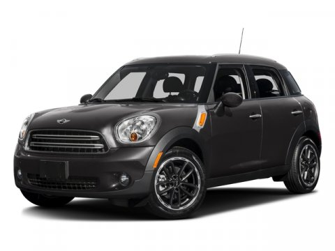2016 MINI Cooper Countryman S Absolute Black MetallicCarbon Black V4 16 L Manual 0 miles Sunr