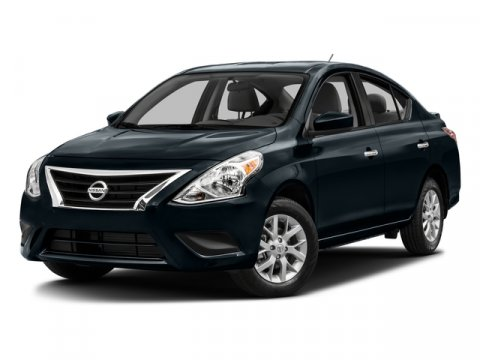 2016 Nissan Versa SV Fresh PowderCharcoal V4 16 L Variable 6 miles  Front Wheel Drive  Power