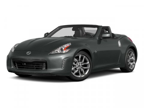 2016 Nissan 370Z Magnetic BlackBlack V6 37 L Automatic 0 miles Featuring a sleek and sporty e