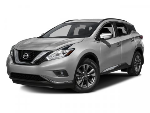 2016 Nissan Murano S FWD Brilliant Silver MetallicBlack V6 35 L Variable 516 miles One Owner