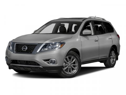 2016 Nissan Pathfinder SL Gun Metallic V6 35 L Variable 10 miles  Four Wheel Drive  Power St