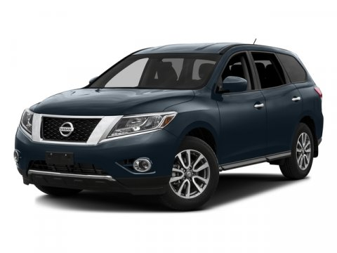 2016 Nissan Pathfinder SV Arctic Blue Metallic V6 35 L Variable 10 miles  Four Wheel Drive