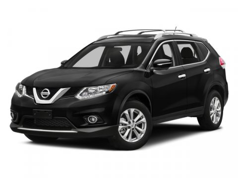 2016 Nissan Rogue SV Sport Utility 4D RedGray V4 25 L Variable 48986 miles  All Wheel Drive