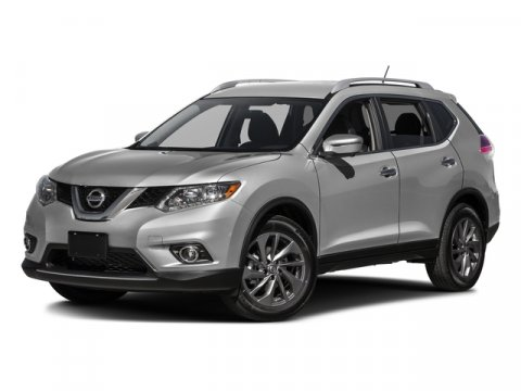 2016 Nissan Rogue SL Magnetic Black V4 25 L Variable 0 miles The Nissan Rogue features a stri