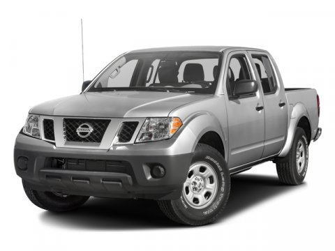 2016 Nissan Frontier Crew Cab S RWD WhiteSteel V6 40 L Automatic 5641 miles One Owner White